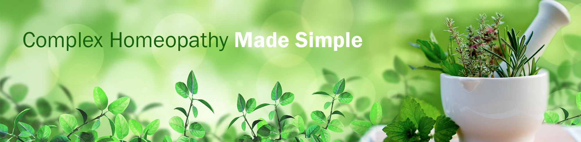 Homeopathy Made Simple